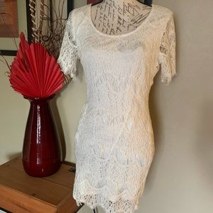 Ark & Co. Cream Dress